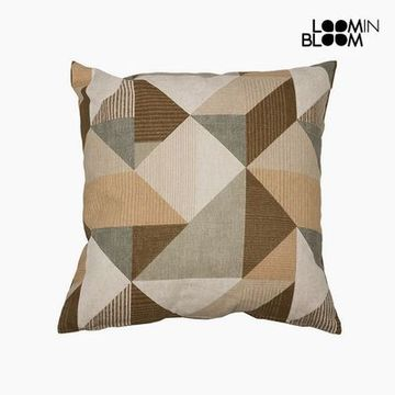 Kudde Bomull och polyester Beige (45 x 45 x 10 cm) by Loom In Bloom