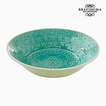 Djup tallrik Porslin Green by Bravissima Kitchen