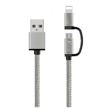 USB-kabel till iPad/iPhone REF. 101127 Silver