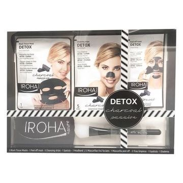 Kosmetikset Damer Detox Charcoal Black Passion Iroha (7 pcs)