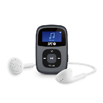 MP3-spelare SPC Sparrow 8648N 8GB RADIO WAV WMA Svart