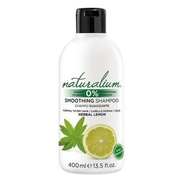 Moisturizing Shampoo Herbal Lemon Naturalium (400 ml)