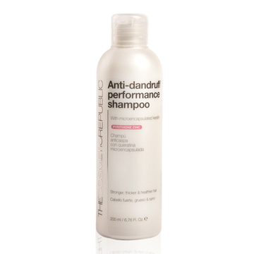 Anti-mjäll schampo Performance The Cosmetic Republic (200 ml)