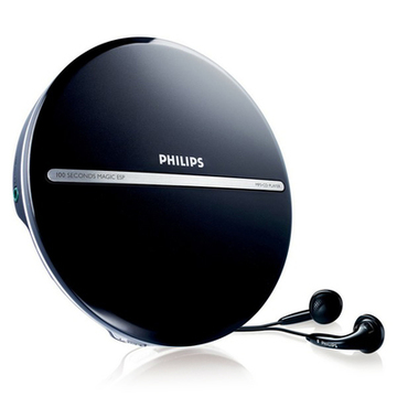 MP3 CD-spelare Philips EXP2546/12 LCD (3.5 mm) Svart