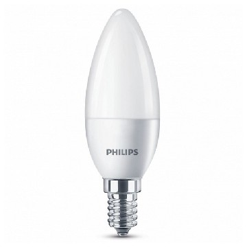 LED-lampa Ljus Philips 5,5W A+ 240 V Vit