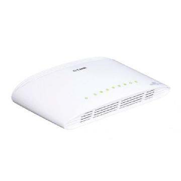 Brytare OR: Strömbrytare (if power/ light switch) D-Link NSWSSO0129 8 p 10 / 100 / 1000 Mbps