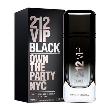Men's Perfume 212 Vip  Black Carolina Herrera EDP 100 ml