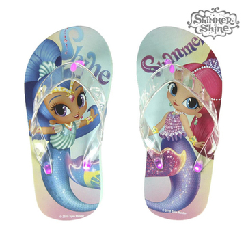 Flip-flops med LED-ljus Shimmer and Shine 73082