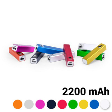 Power Bank 2200 mAh USB 144743 Blå