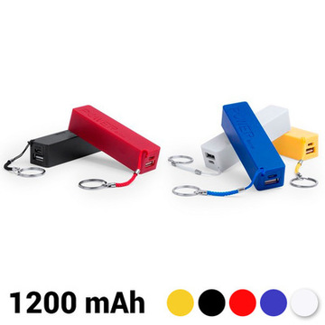 Nyckelkedja Power Bank 1200 mAh 144941 Blå