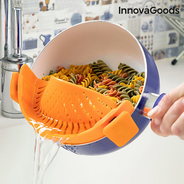 InnovaGoods Pastrainer Silicone Colander