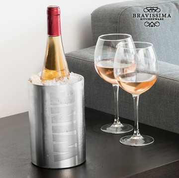 Flaskkylare Inox Wine Bravissima Kitchen
