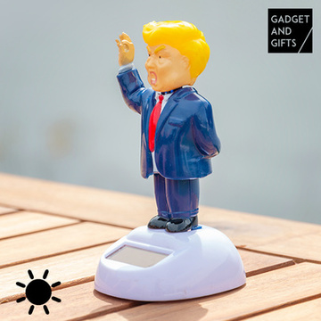 Dansande solcellsfigur Mr. Trump Gadget and Gifts