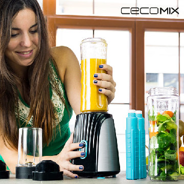 Glasmixer Cecomix Titanium Two 4066 350W