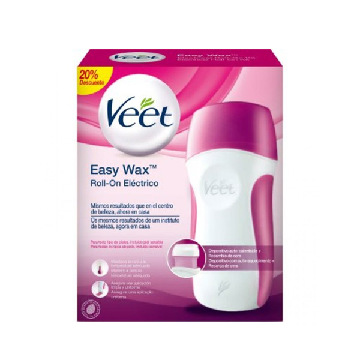 Elektriskt epileringskit med varmt vax roll-on Veet Easy Wax