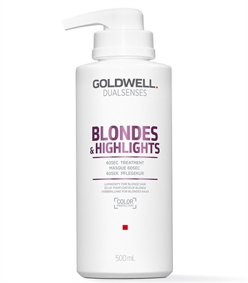 Goldwell Dualsenses Blondes & Highlights 60 Sec Treatment 500 ml