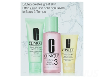 Clinique 3-Step Creates Great Skin Type 3 - 3-pack
