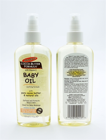 Palmers Cocoa Butter Baby Oil 150ml