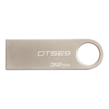 Kingston, 32GB USB 2.0 DataTraveler SE9, metal