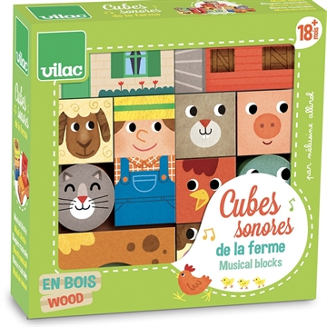 Farm musical blocks