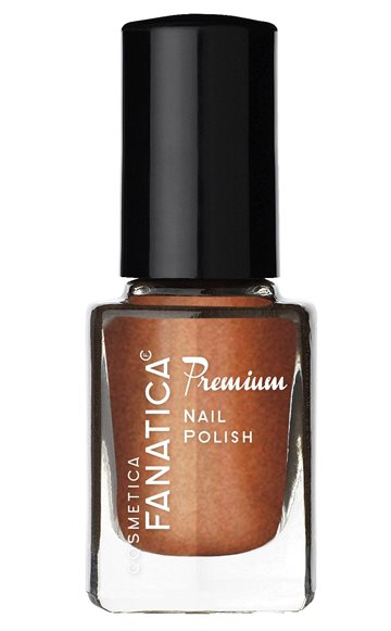Fanatica Nail Polish Brown Glitter 134