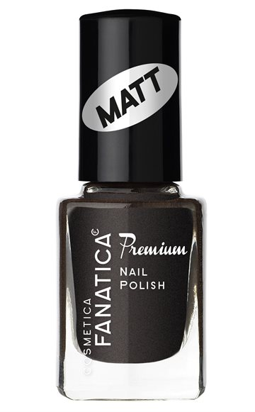 Fanatica Nail Polish Eff. Matt Black 851