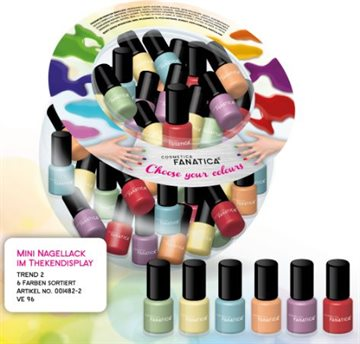 Fanatica Nail Polish Mini Bonbon Ass.