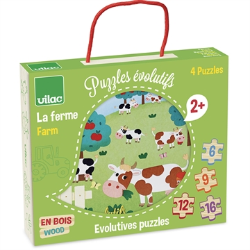 Farm evolutive puzzle