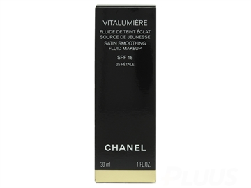CHANEL VITALUMIÈRE SATIN FLUID MAKEUP SPF 15 #10 LIMPIDE 30ml