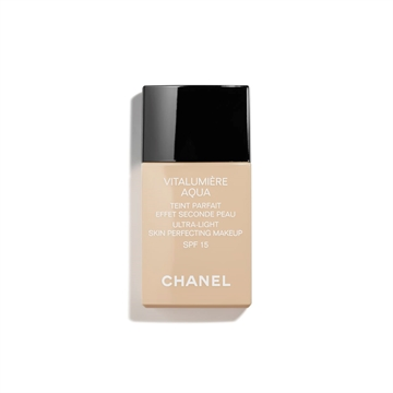 Chanel Vitalumiere Aqua Ultra Light Skin Perfecting Make Up Spf 15 -22 Beige Rose 30ml
