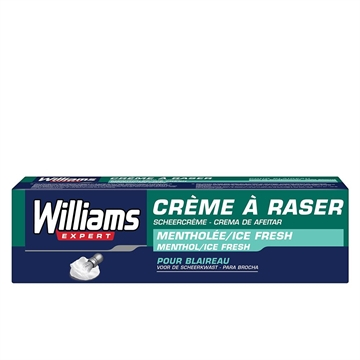 Williams Shaving Cream 100 ml Menthol Ice Fresh