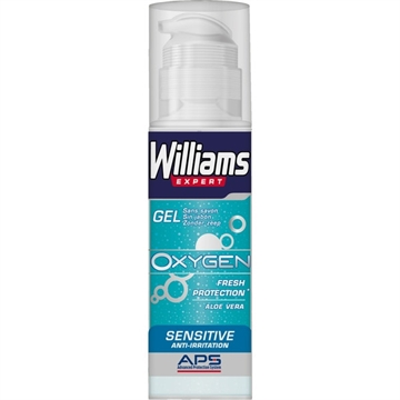 Williams Oxygen Shaving Gel 150 ml Sensible Skin Aloe Vera