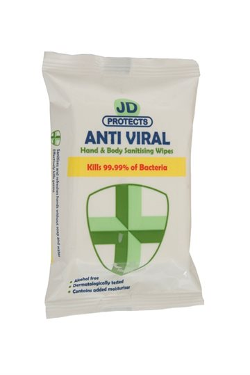 Anti Viral Hand/Body Wipes15