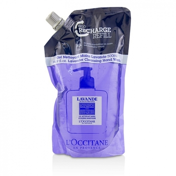 L'Occitane Cleansing Hand Wash - Lavender Refill 500ml