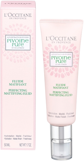 L'Occitane Pivoine Pure Perfecting Mattifying Fluide 50ml