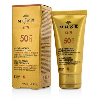 Nuxe Sun Melting Cream High Prot. For Face SPF50 50ml Normal To Dry Skin