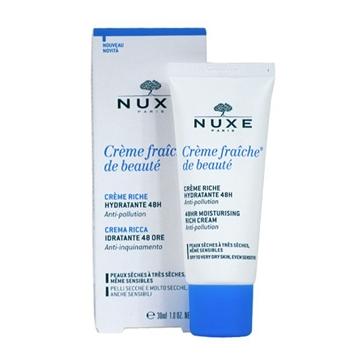Nuxe Creme Fraiche De Beaute Moist. Rich Cream 30ml 48HR - Dry To Very Dry Skin