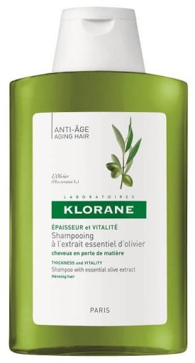 Klorane Shampoo With Essential Olive Extract 200ml Anti-Age
