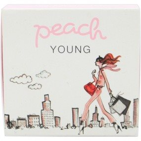 Tampons 4pcs normal Peach Young