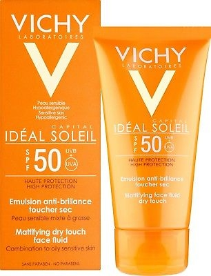Vichy Ideal Soleil SPF50 Face Emulsion Dry Touch 50ml