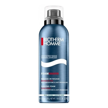 Biotherm Homme Shaving Foam Close Shave 200ml AntiIrritations & AntiRednesses  Sensitive Skin