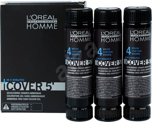 L'Oreal  Homme Cover5 (4) 3X50ml