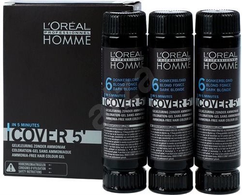 L'Oreal  Homme Cover5 (6) 3X50ml