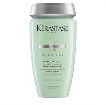Kerastase Specifique Bain Divalent 250ml Balancing Shampoo - Oily Roots Sensitised Lenghts
