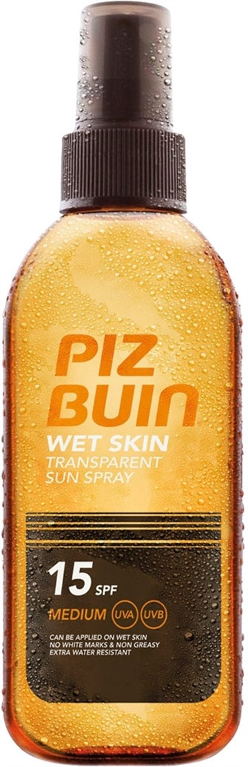 Piz Buin Piz Buin Wet Skin Transparent Sun Spray 150ml SPF15