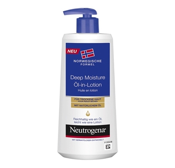 Neutrogena Oil In Lotion 250ml Deep Moisture