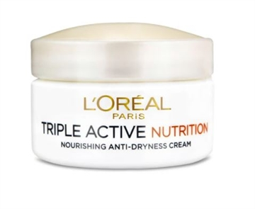 L'Oréal  Triple Active Nutrition Day Cream