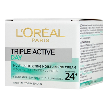 L'Oréal  Triple Active Cream Normal Skin 50 ml
