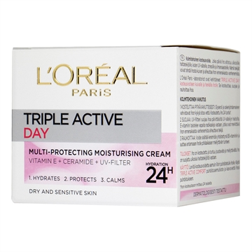 L'Oréal  Triple Active Cream Dry Skin 50 ml
