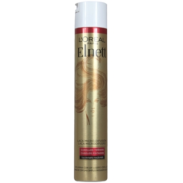L'Oreal Elnett Lacquer 400ml Strong Fixation Dyed Hair